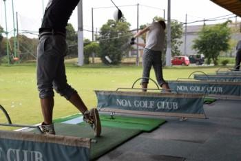 ゴルフラウンド 打ちっぱなし練習 カロリー消費量 3