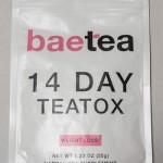 全米人気No.1 baetea 14 DAY TEATOX ダイエット茶を飲んでみました