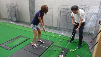 ゴルフラウンド 打ちっぱなし練習 カロリー消費量 4